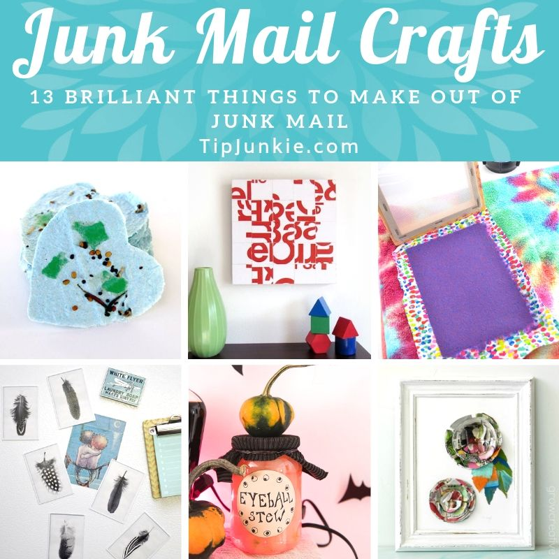 Things to make out of junk mail