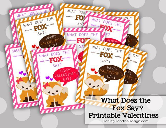 What Does the Fox Say Valentine