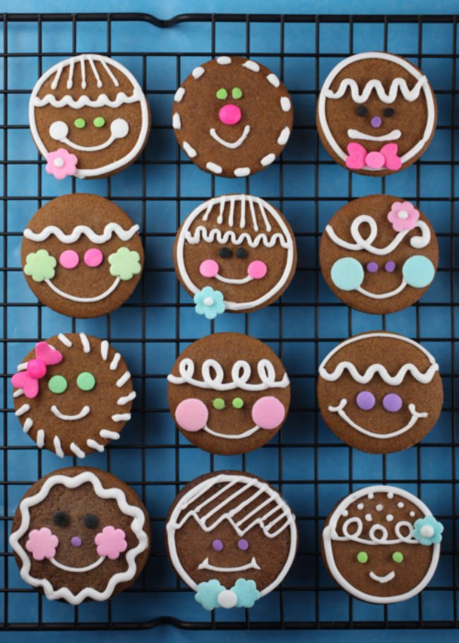 Gingerbread Heads