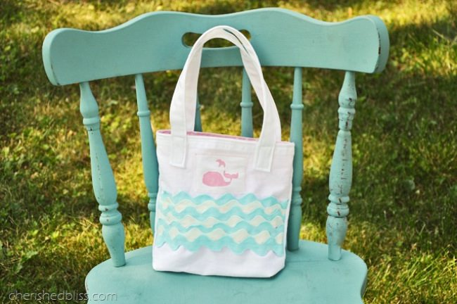 Toddler Tote Tutorial