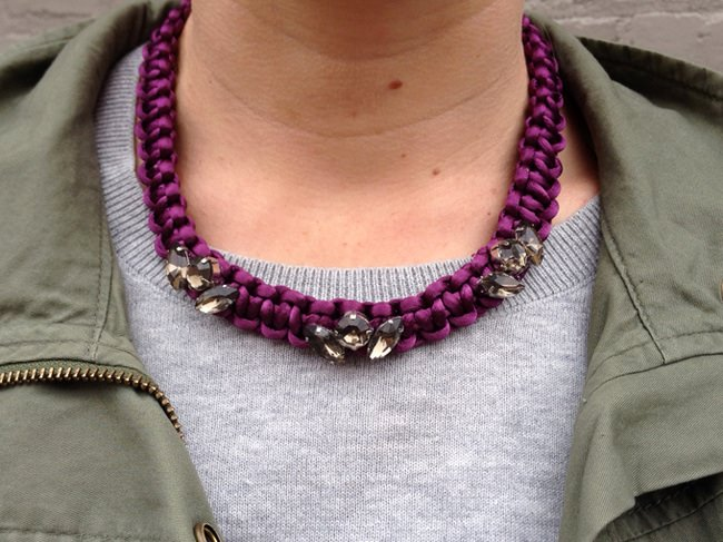 DIY Braided Necklace