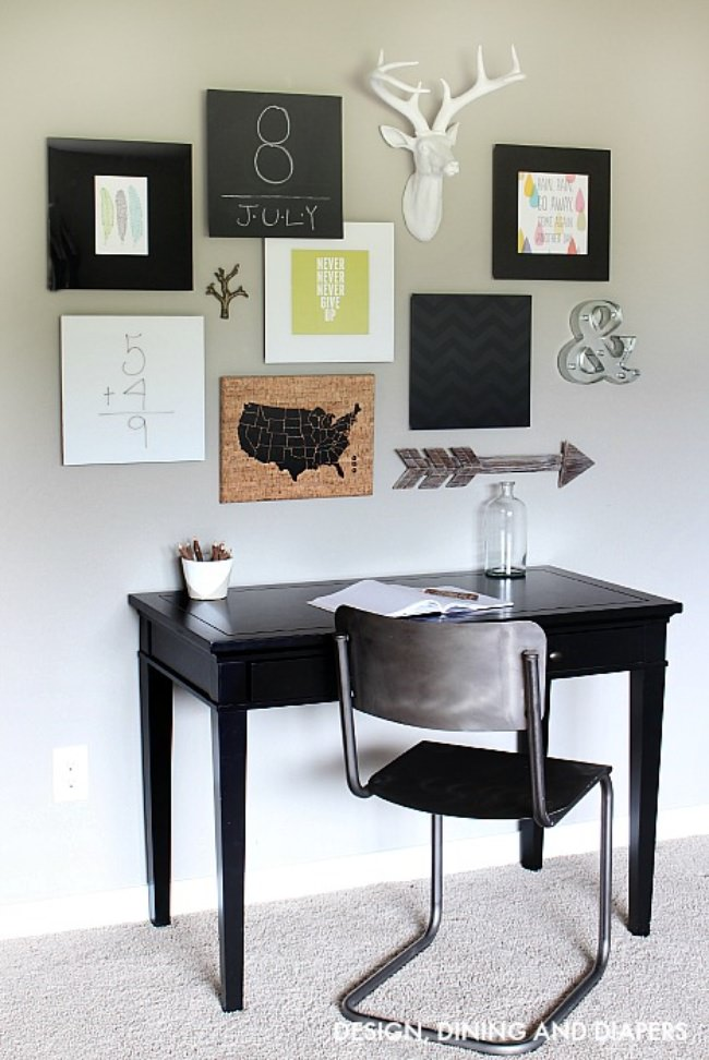 28 Ideas For Gorgeous DIY Gallery Walls