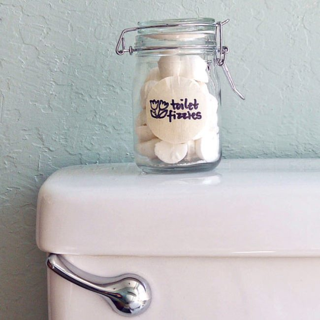 DIY Toilet Fizzies