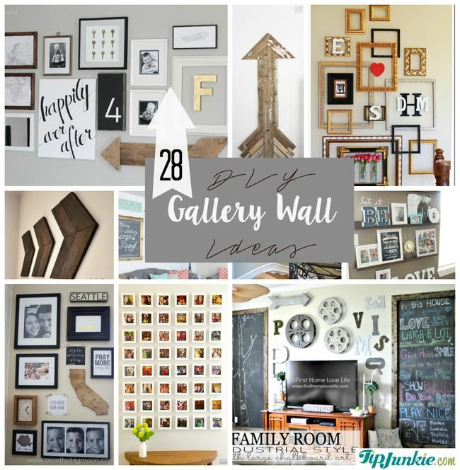 New DIY Gallery Wall Ideas