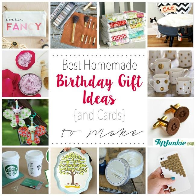 Best Homemade Birthday Gift Ideas To Make Jpg