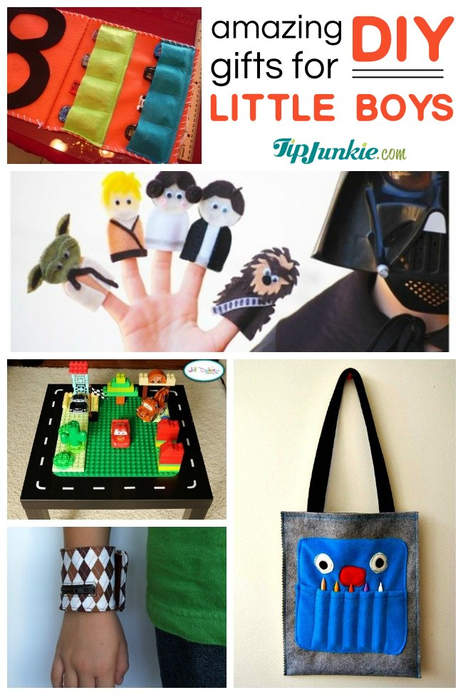 40 awesome gifts to make for boys tip junkie for Easy diy gifts for boys