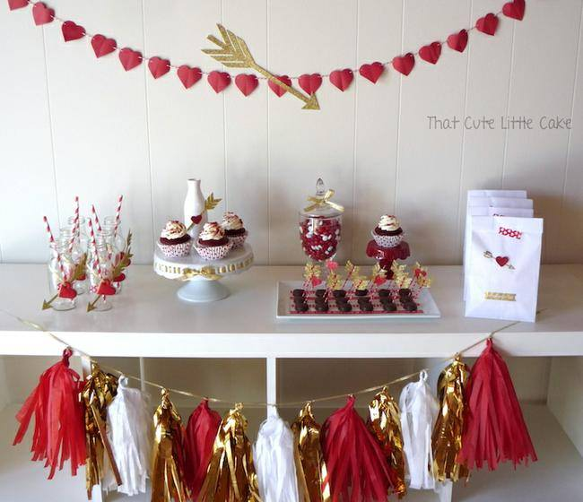 Cupid's Arrow Valentine Party