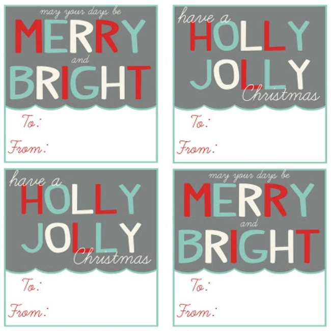 Free Printable Christmas Templates To Print.17 Free Printable Christmas Gift Tags Tip Junkie