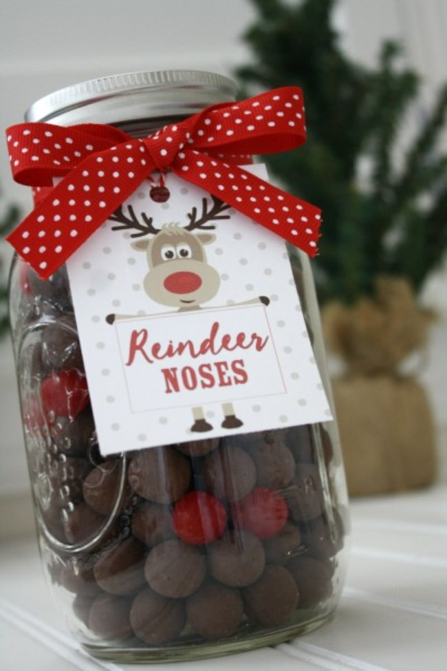 reindeer noses treat - Gifts To Make For Christmas