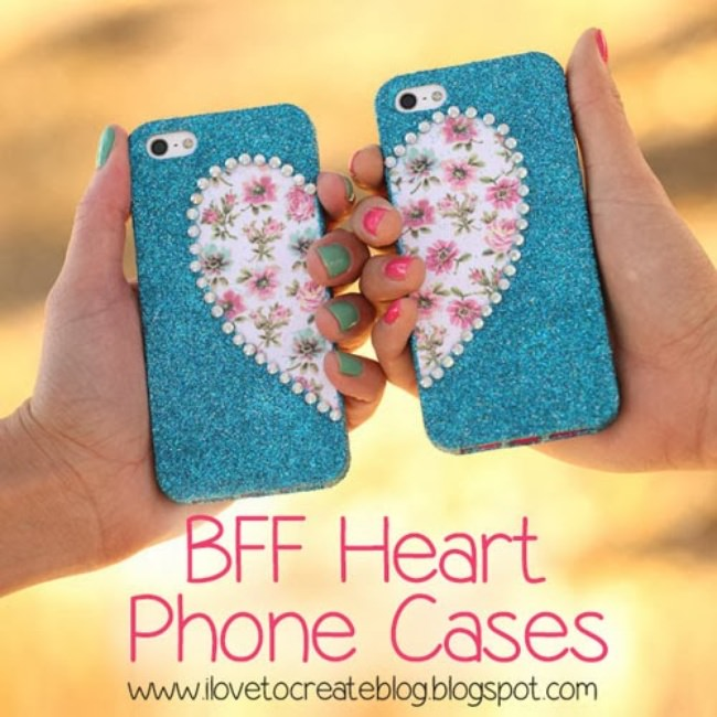 19 diy tween and teen gifts tip junkie for How to make phone cases at home