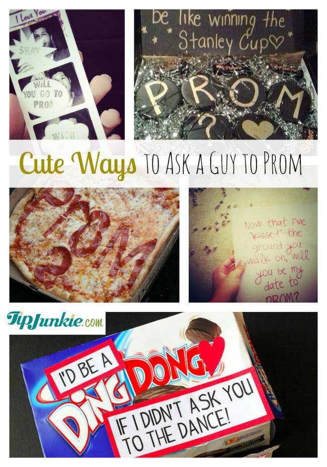 Ways A To Guy To Unique Prom Ask