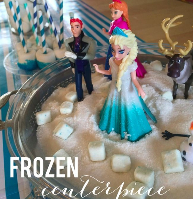 Frozen Centerpiece