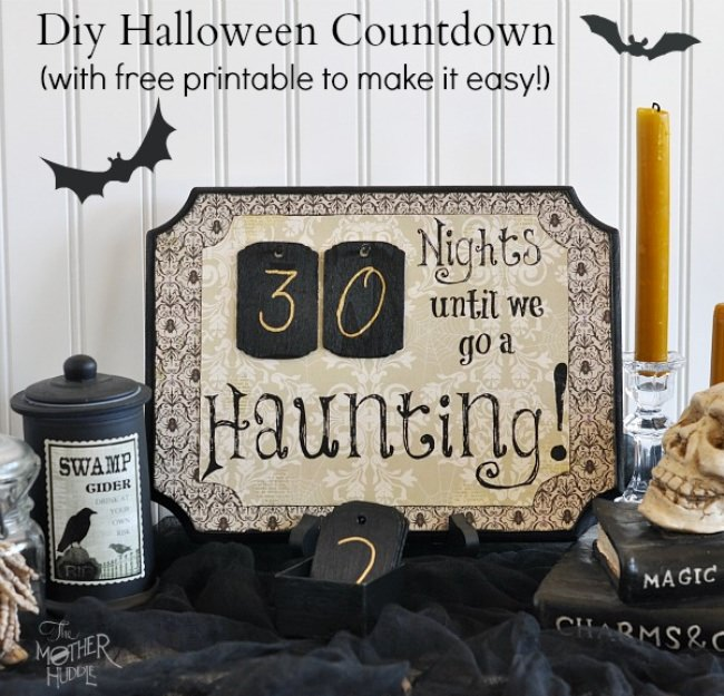 11 Fun Ways to Countdown to Halloween | Tip Junkie
