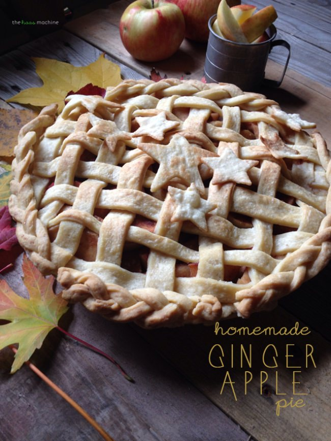 Ginger Apple Pie