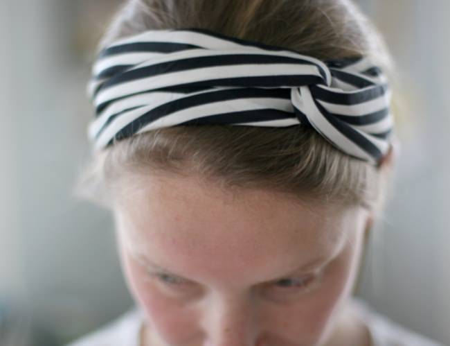 Turban Twisted Headband Scarf {Hair Accessories}