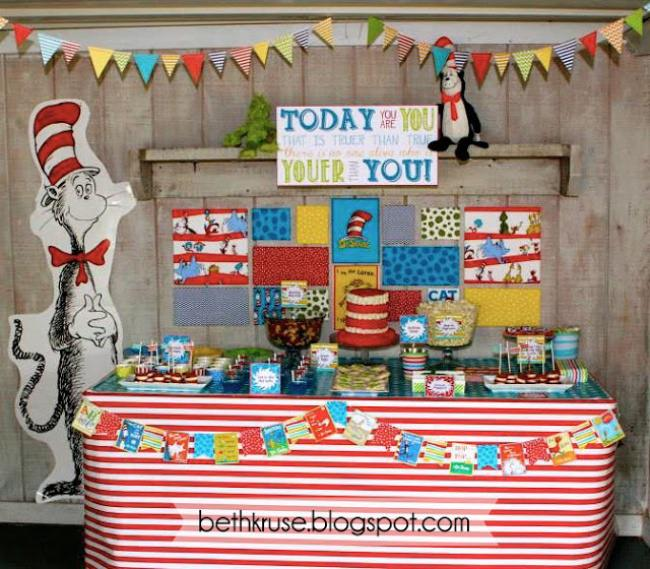 Dr. Seuss on the Loose Party