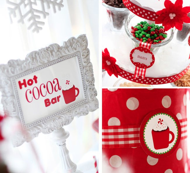 Hot Cocoa Bar {Party Food}