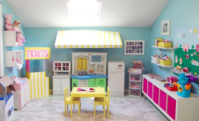 13 organized kids playroom ideas | tip junkie