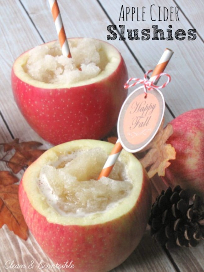 Apple Cider Slushies