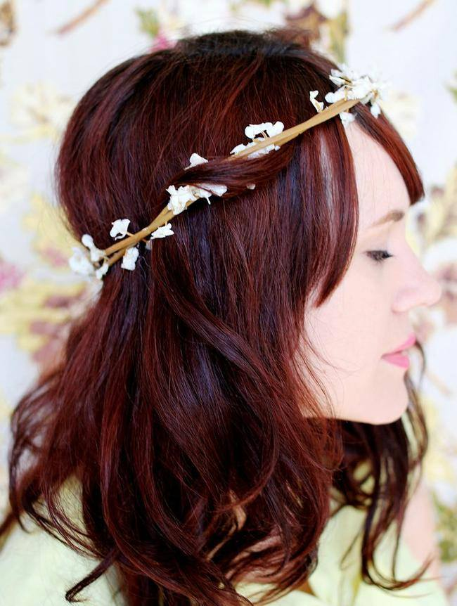 Bloom Crown Flower DIY