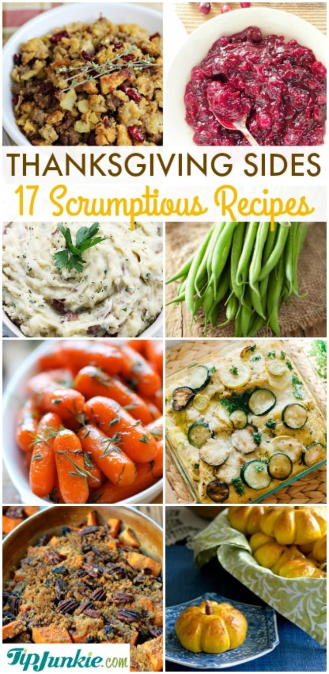 Scrumptious Thanksgiving Sides {recipes}-jpg