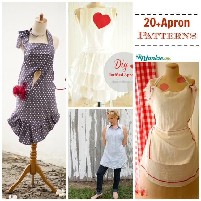 22 DIY Apron Patterns to Make | Tip Junkie