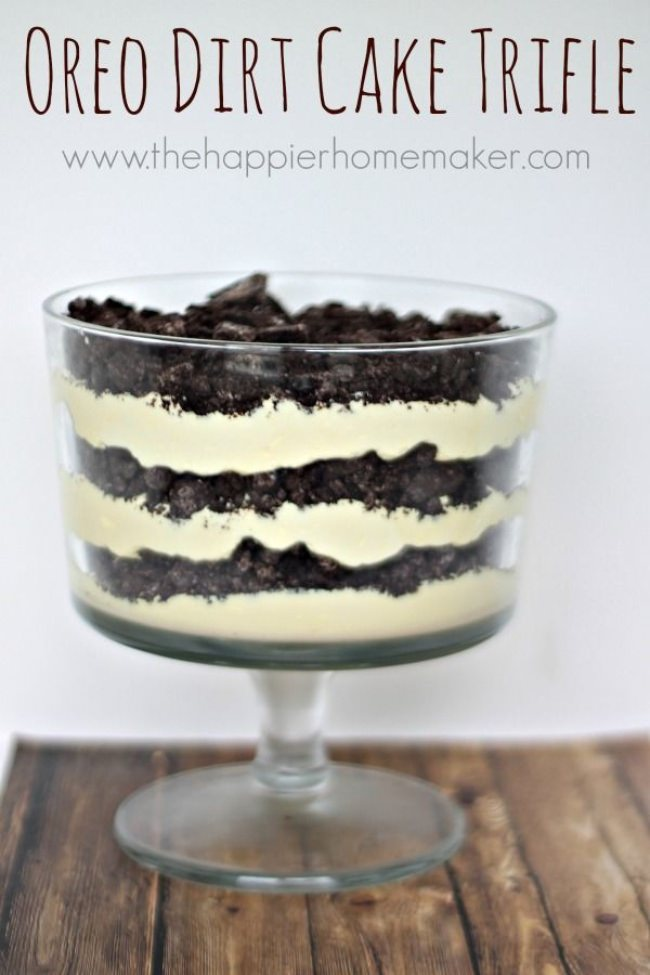 Oreo Dirt Cake Trifle