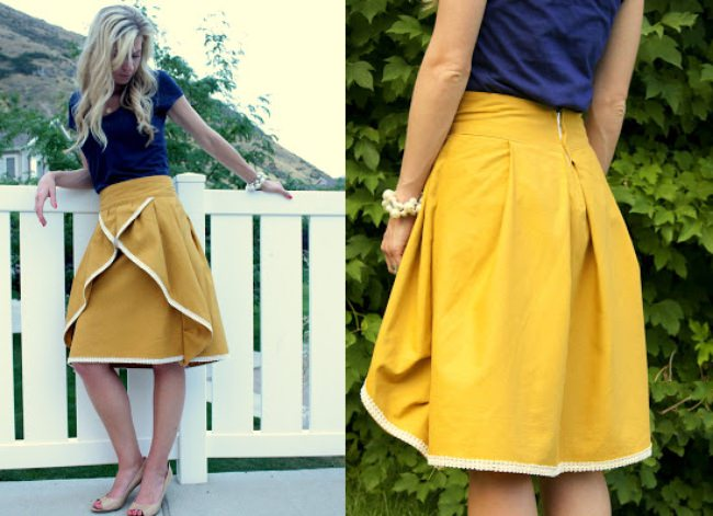 Pinwheel Skirt {Tutorial}