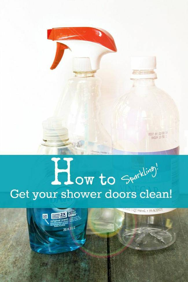 Shower Door Cleaner