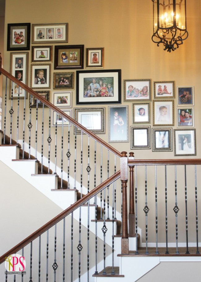 How to Hang a Picture Perfect Wall