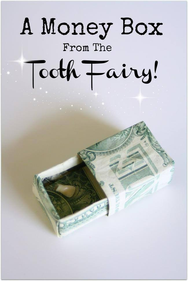 Tooth Fairy Money Box
