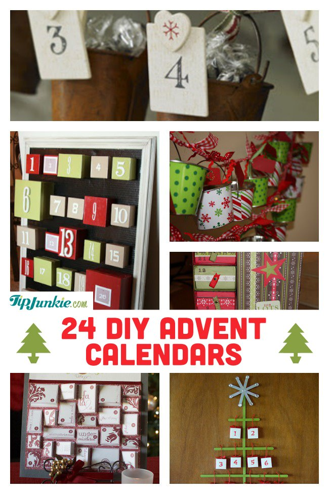 24 Ways to Countdown to Christmas with an Advent