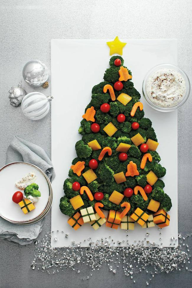 Christmas Tree Veggie Tray