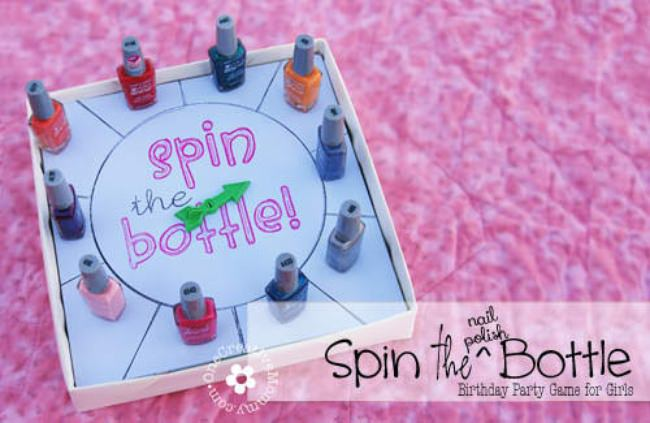 Spin The Nail Polish Bottle Game