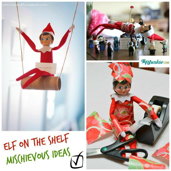 Elf on the Shelf Mischievous Ideas-jpg