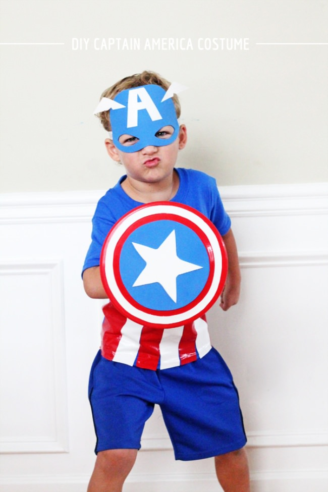 15 diy superhero costume ideas tip junkie diy captain america costume solutioingenieria Choice Image