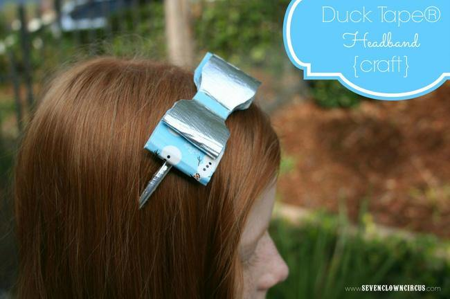 Duck Tape Headband Craft {how-to}