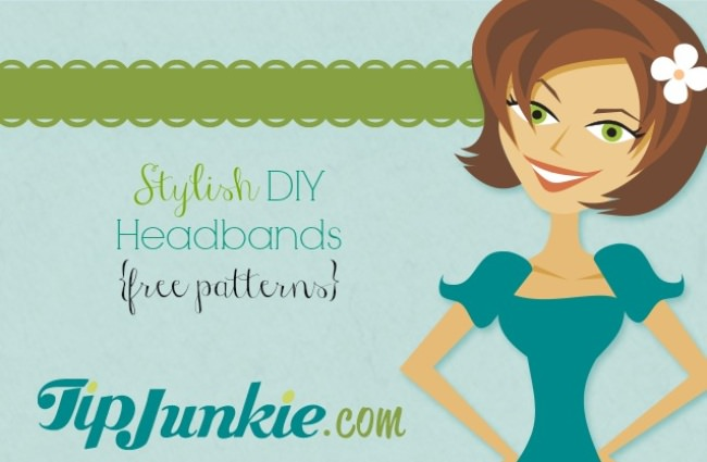 Stylish DIY Headbands {free patterns}