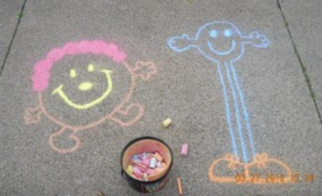 Storybook Chalk Art