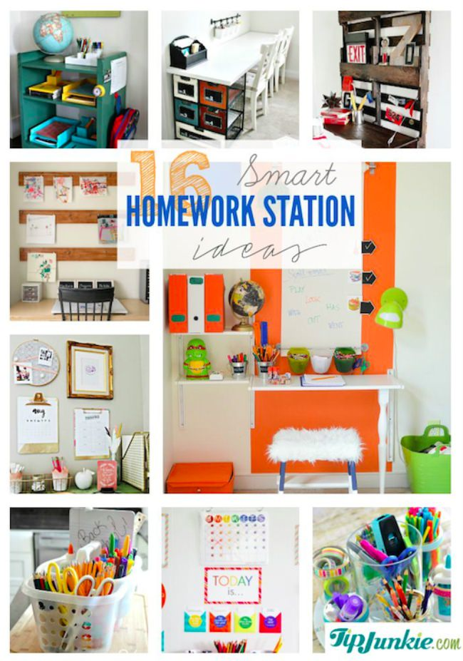 homework station ideas
