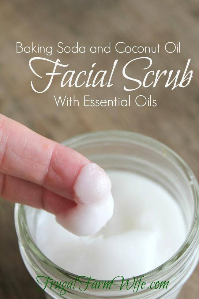 Baking Soda Facial Scrub