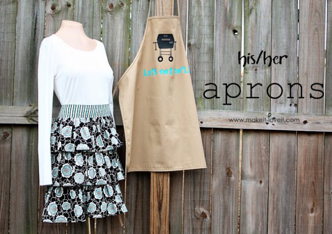 His and Her Aprons