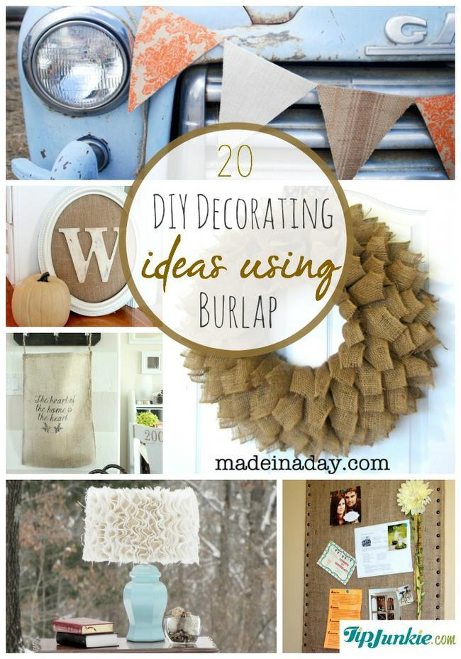 DIY Decorating Ideas Using Burlap-jpg
