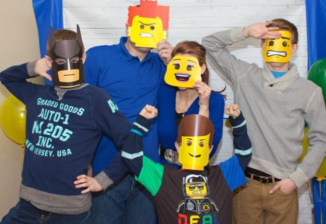 lego mini figure mask