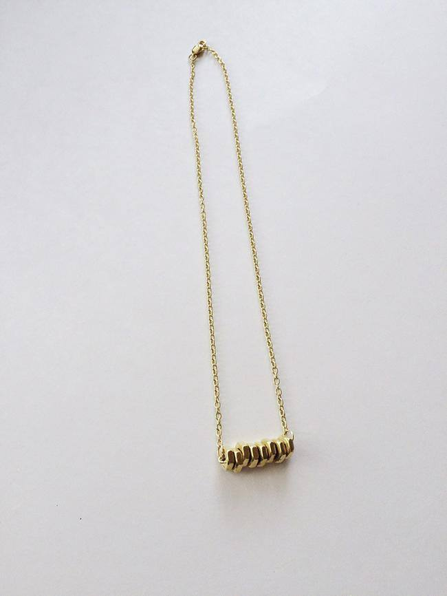 DIY Hardware Necklace