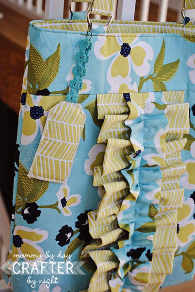 Ruffled Tote Bag Tutorial