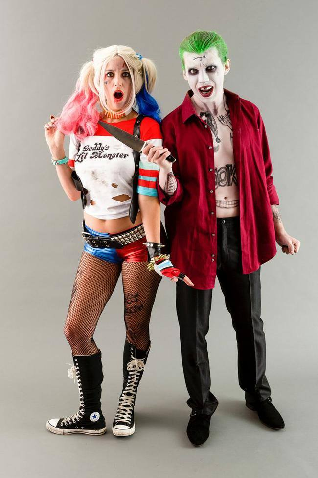 Suicide Squad's Joke and Harley Quinn