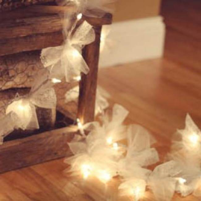 Fancy Twinkle Lights {DIY Christmas Lights}