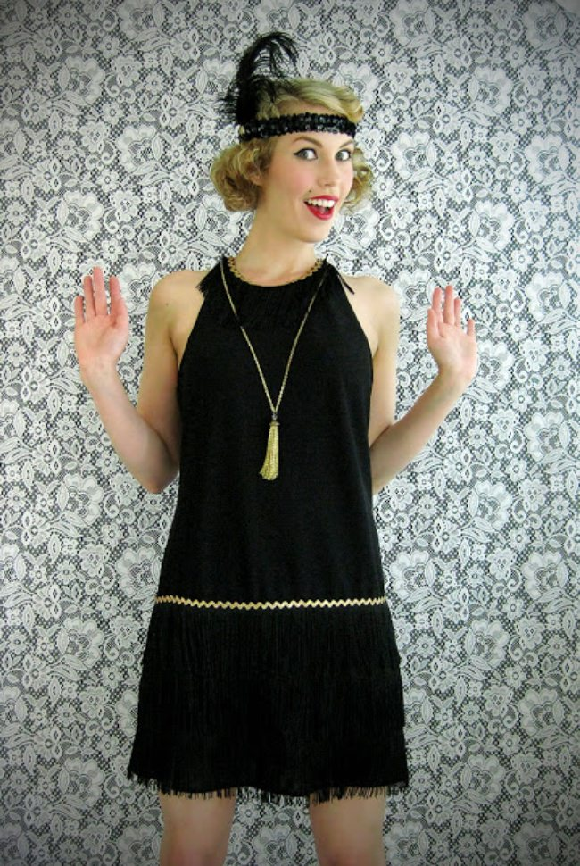 DIY Flapper Dress