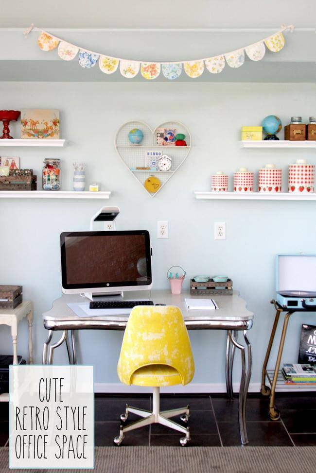 Retro Style Office Space